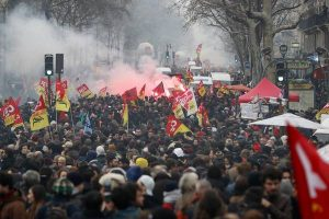 Paris manif cheminots 9 avril 2018