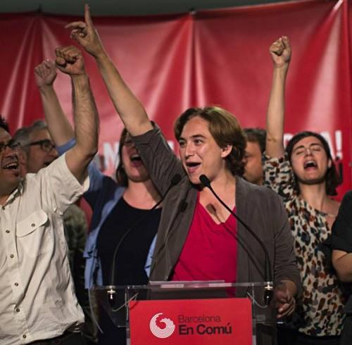 Victoire Podemos Barcelone