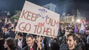 Grèce contre Troika