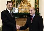 Poutine et Bachar El Assad