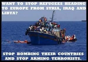 Migrants et guerres