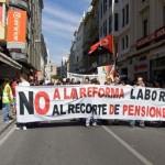 No a la reforma laboral Espana
