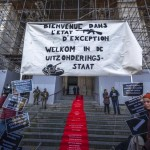 Protestations Palais Justice Bx