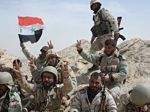 Libération de Palmyre Syrie image001