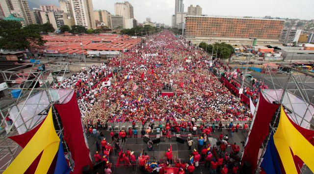 Mobilisation Caracas mai 2017 contre droite