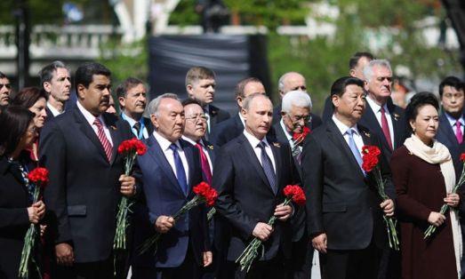 Russie Chine et Venezuela