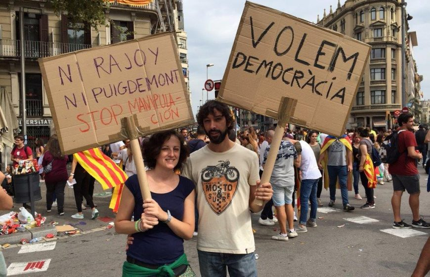 Catalogne manif oct 2017