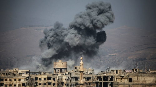 Syrie La Ghouta quartier de Damas