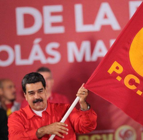 maduro-acepta-candidatura-presidencial-de-partido-comunista-de-venezuela