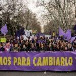 Barcelona Manif femmes 8 mars 2018