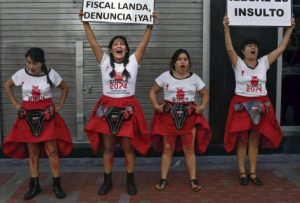 Pérou lutte femme contre stérilisation