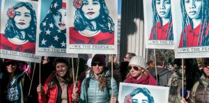 USA women's march Denver janvier 2017
