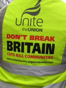 UK Brexit Unite-slogan
