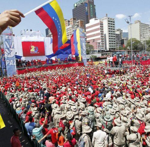 Venez Manif fév 2019 Caracas 3