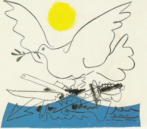 Cuba Venez Colombe Paix Picasso