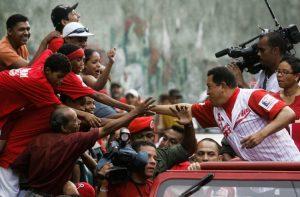 Venez Cararas 7 février 2009 Chavez