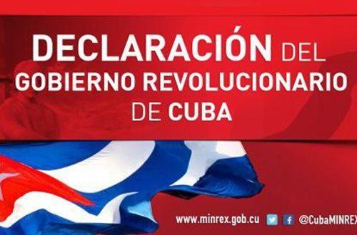 Declaracion-de-Gobierno-Cuba-500x330