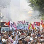 Manif France justice sociale