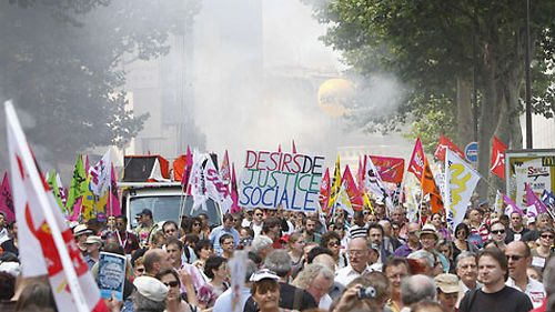 Manif France justice sociale