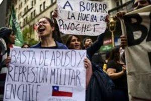Chili contre répression militaire 9 nov 2019