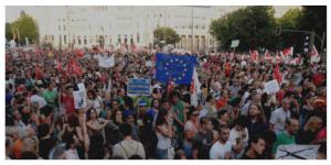 Europe manif plan de relance