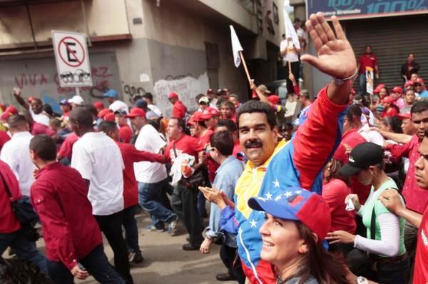 Venez Maduro_18 mobilisation contre blocus