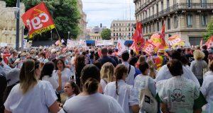 France mobilisation pour hôpital public juin 2020