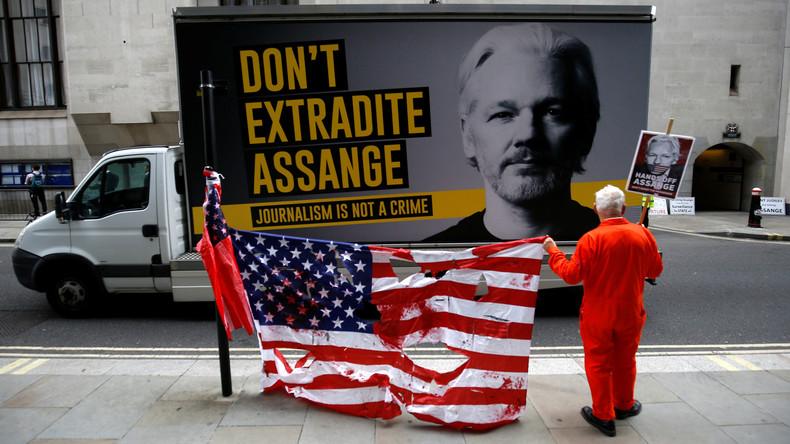 UK Londres Ne pas extrader Assange
