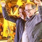 Ecuador Arauz y Rabascall 1er torno presidencial
